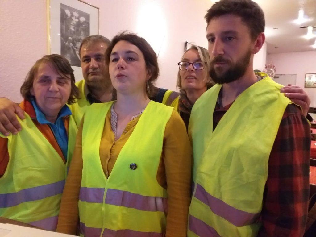 Les Gilets Jaunes du QG Strasbourg République répondent à Macron