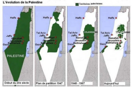 Palestine peau de chagrin