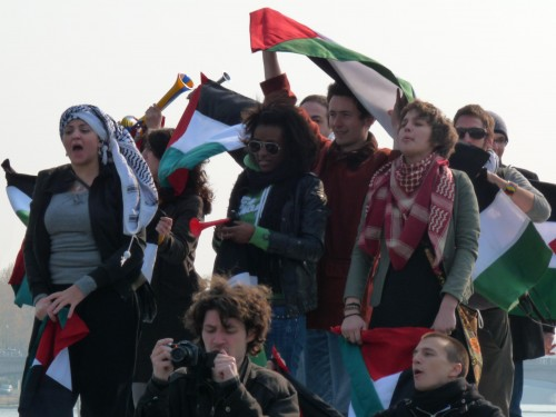 Nous nous sommes invités à l'inauguration de l'esplanade Ben Gourion!