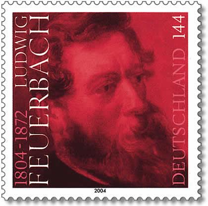 """""""Ce nest pas dieu qui a fait l'homme a son image mais bien l'homme qui a créé dieu a son image"""", Ludwig Feurbach"""