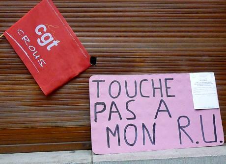 Grève au CROUS Strasbourg