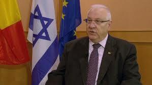 Le président de la Knesseth et son escorte occupent la place Saint-Thomas à Strasbourg