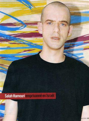 Enfin le PS se bouge pour Salah Hamouri!