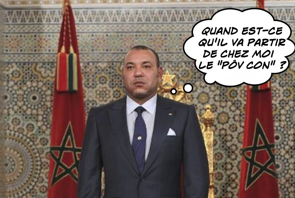 rencontre mohammed vi hollande