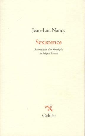 Sexistence, par Jean-Luc Nancy