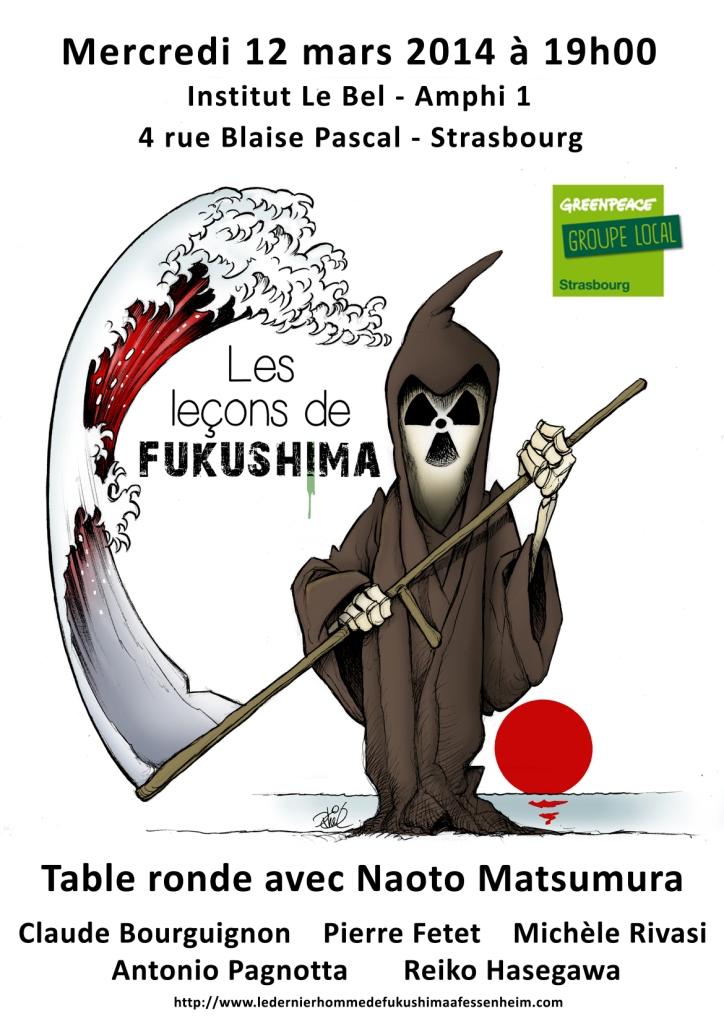 Fukushima: Naoto Matsumura en Alsace