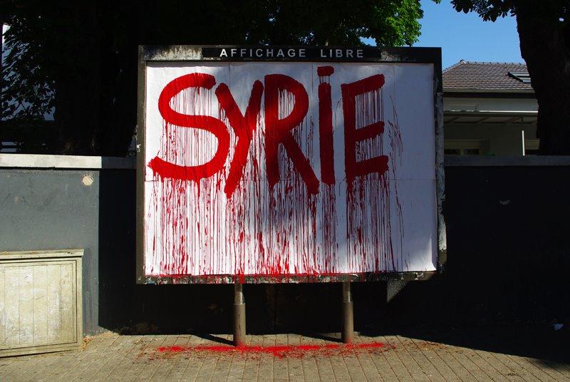 Vague blanche pour la Syrie à Strasbourg ce vendredi 15 mars à 17h place Kléber