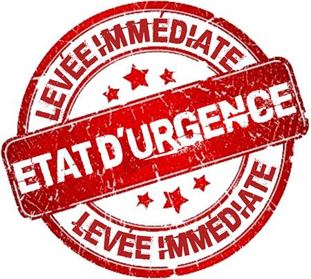 Stop état d'urgence !