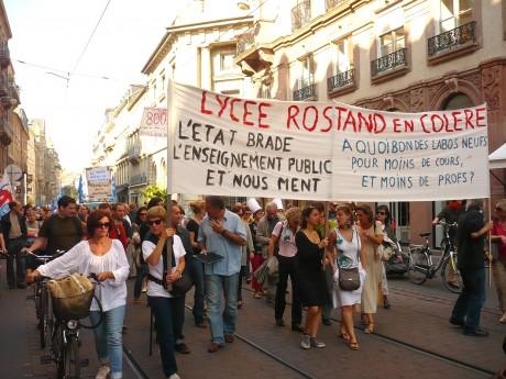 Strasbourg: Éducation en danger: résistance!