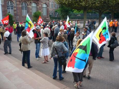 Strasbourg: Battre le pavé plutôt que battre en retraite