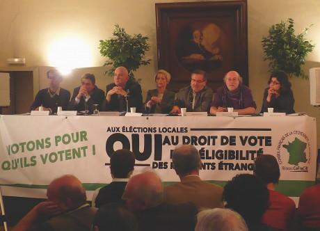 Droit de vote des résidents étrangers: le débat du FEC à Strasbourg
