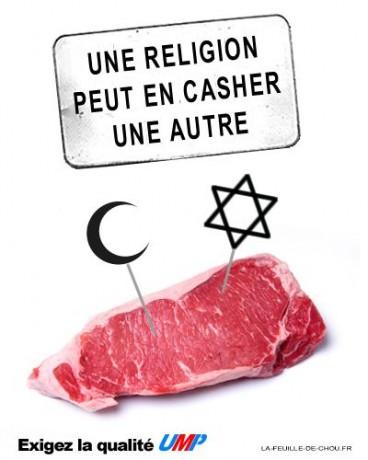 Viande: une religion peut en casher une autre…