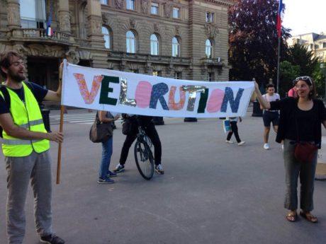 Vélorution à Strasbourg