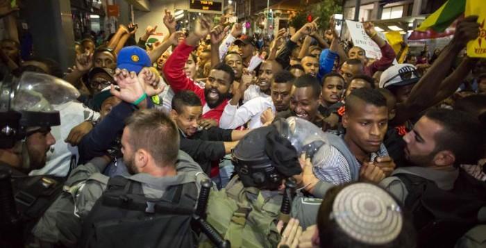 Les Ethiopiens d'Israël menacent d'une «intifada noire»