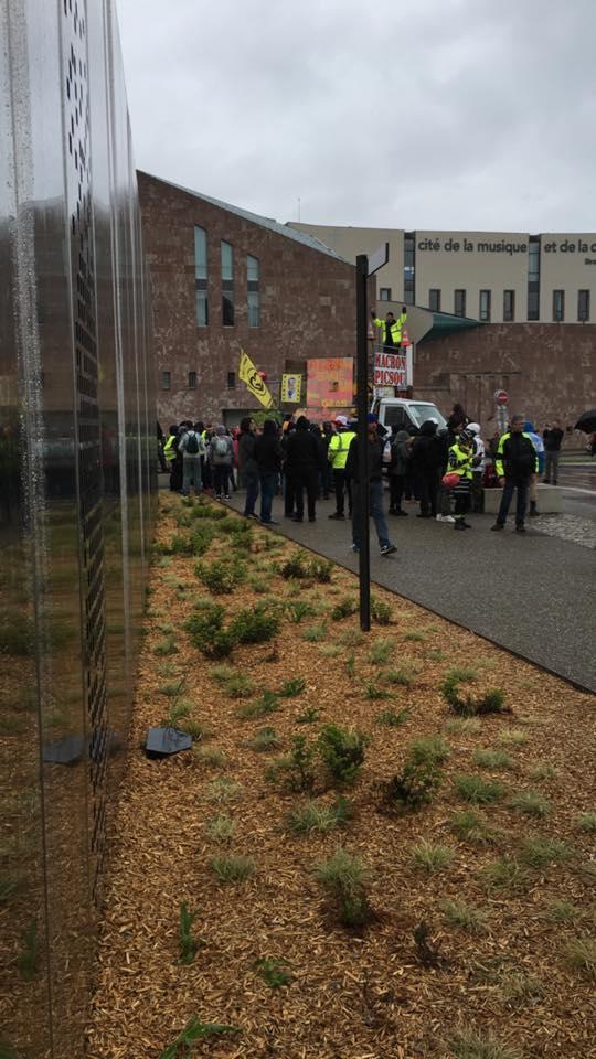 Strasbourg Acte XXIV 5000 manifestants et une police déchaînée