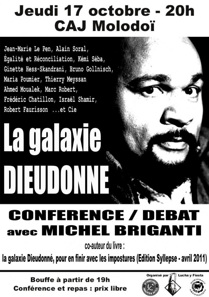 La Galaxie Dieudonné – Conférence/Débat