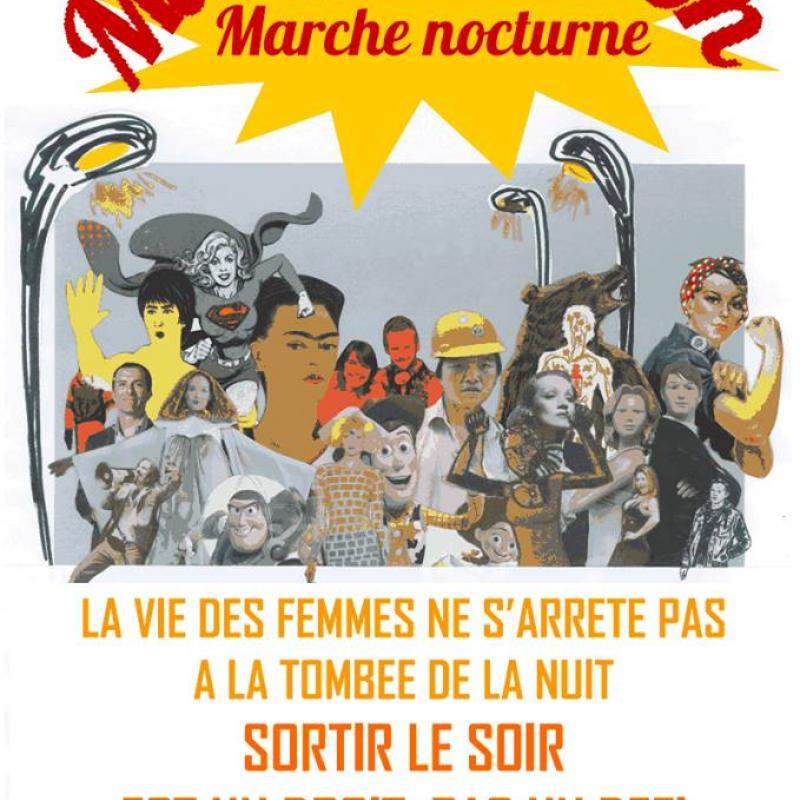 Appel à une marche nocturne de femmes à Strasbourg