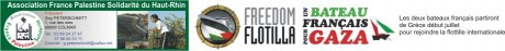 Flottille: Henri Stoll, de retour à Colmar-Marseille/Rennes/Gaza