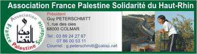 Mulhouse Palestine Boycott AFPS