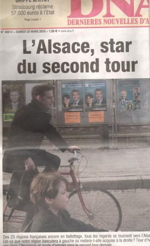 Les Dernières Nouvelles d'Alsace votent Richert!