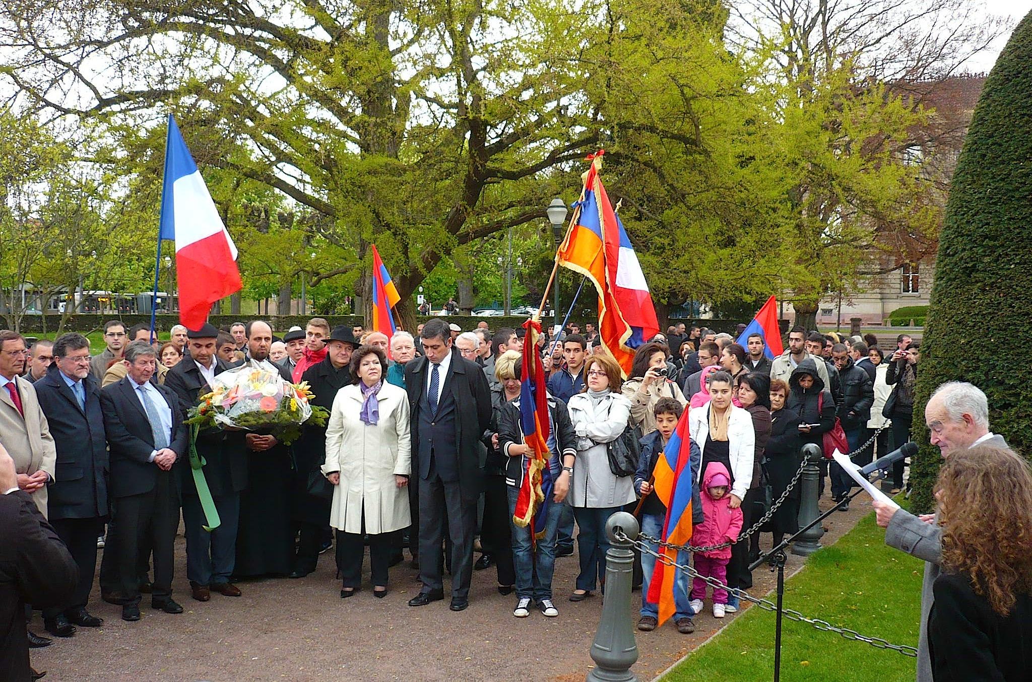 24 avril: Commémoration du génocide des Arméniens