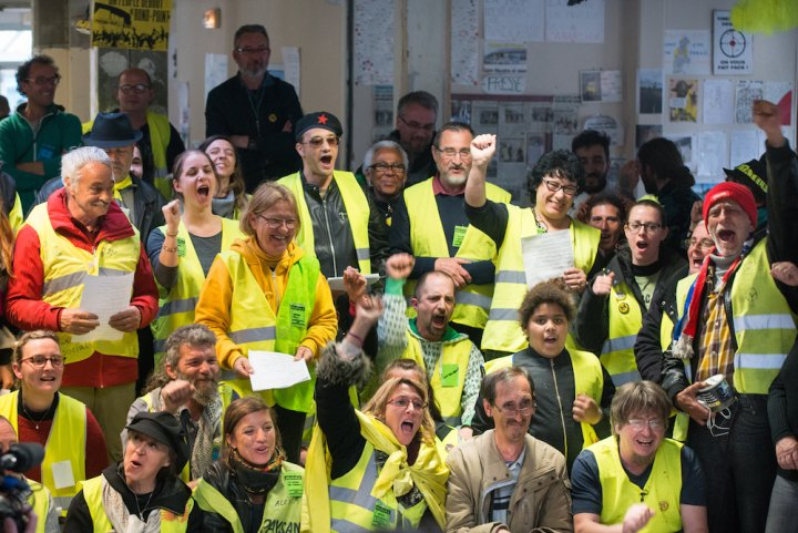 Gilets Jaunes: Assemblée des Assemblées à Saint-Nazaire