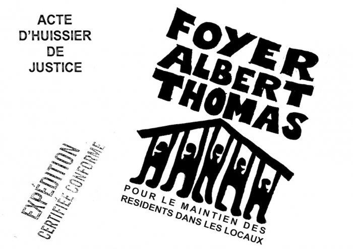 A Tours, salariés et résidents du Foyer Albert Thomas résistent au maire et au préfet !