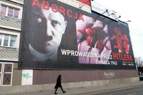 La Pologne, l'avortement et Hitler…