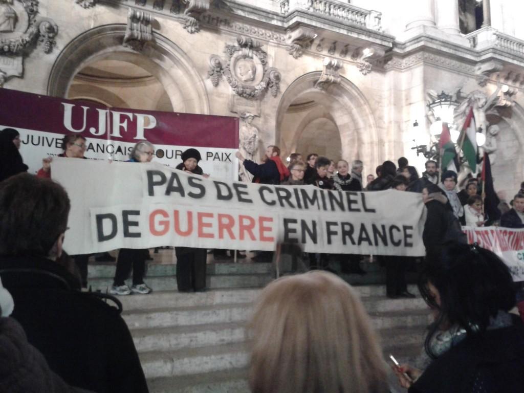 500 à Paris contre la visite de Netanyahu en France