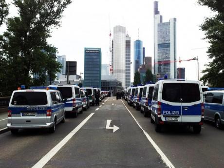 Blockupy Frankfurt : le compte rendu des deux jours