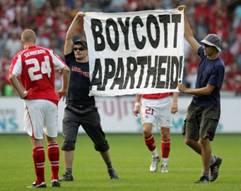 boycott apartheid football