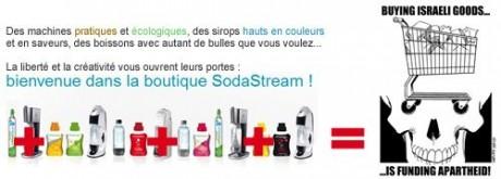 boycott sodastream+