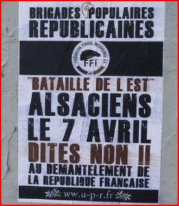 brigades populaires républicaines upr