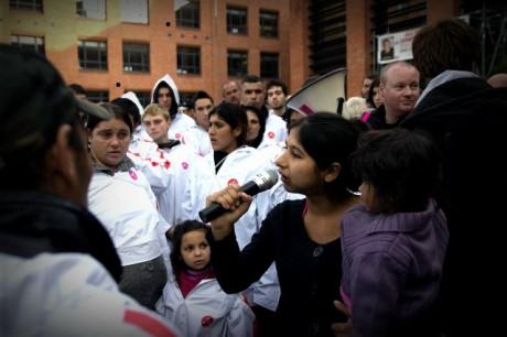 À Lille, la mairie et l'État jouent au ping pong avec les Roms