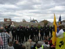 Non au nucléaire, civil et militaire! Castors dégage d'Alsace!