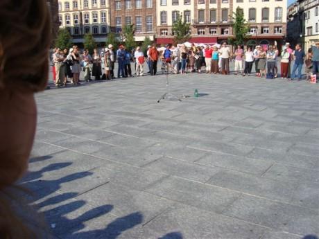 Cercle de silence de Strasbourg le 30 mai 2014