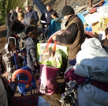Expulsion intolérable, inacceptable et inhumaine du Cours d'Herbouville Lyon 4e