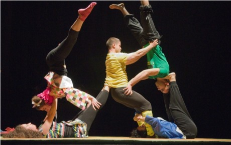 """Asseoir l'espoir."": The Palestinian Circus School"