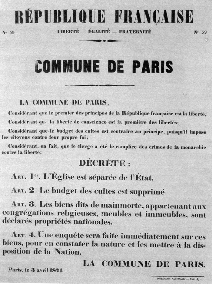 Vive la Commune de Paris!