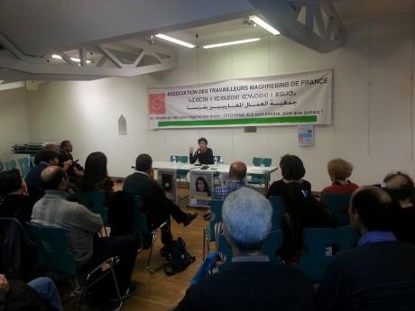 L'impunité au Maroc, conférence de Kadhija Ryadi