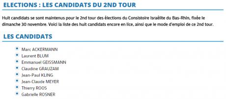 consistoire second tour