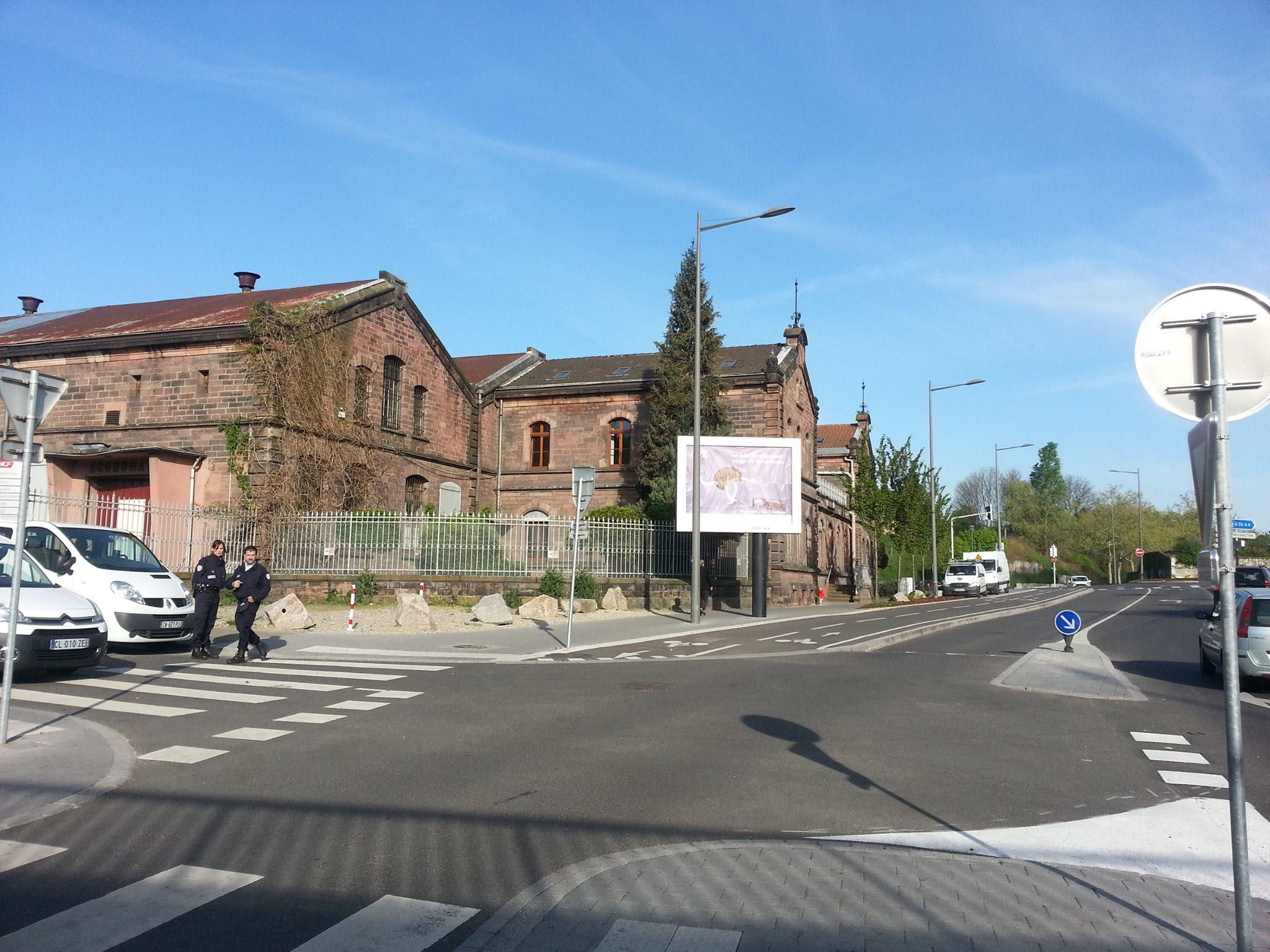 Fréquents contrôles policiers près du Restau du Cœur  à Strasbourg