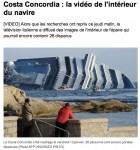 Costa Concordia: naufrage de l'Europe
