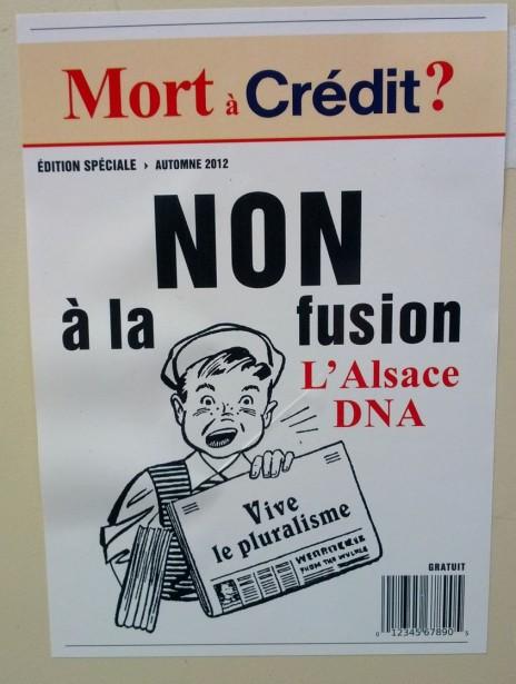 DNA/L'Alsace: la mutualisation à marche forcée?