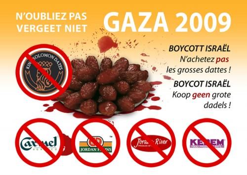 Ramadan 2013: boycott des dattes israéliennes !