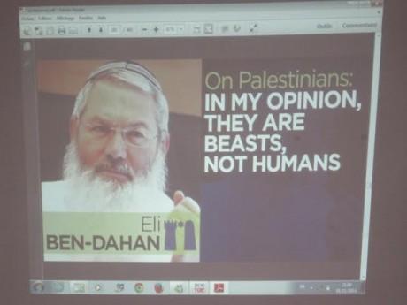 David Sheen et Wissam Elhadj témoignent sur le racisme et la xénophobie en Israël, et sur Gaza, à l'Assemblée générale de l'UJFP