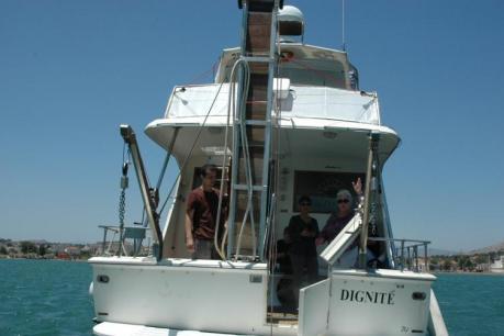 Le bateau français Dignité Al Karama a quitté la Grèce pour Gaza