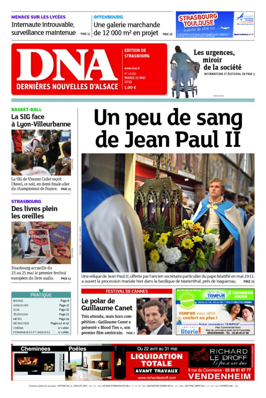 critique des médias: Très chrétiennes Dernières Nouvelles d'Alsace ...
