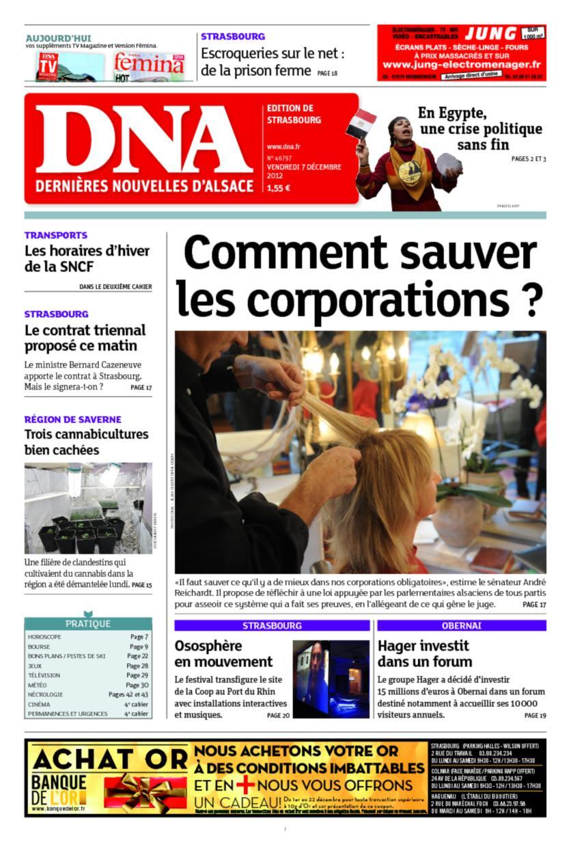 DNA+Journal+Alsace Les Dernières Nouvelles d'Alsace deviendraient ...