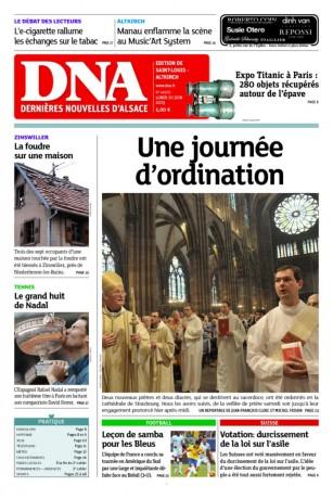 dna une journée d'ordination 100613